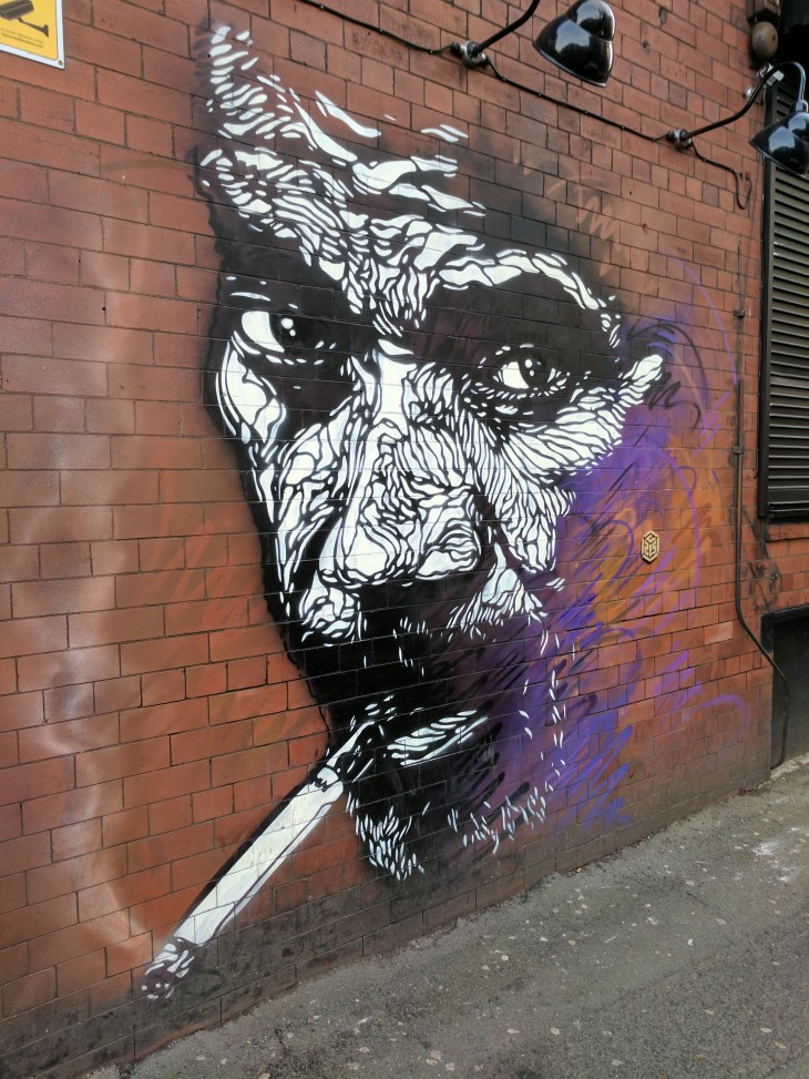 C215 mural in Manchester
