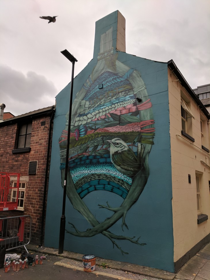 Faunagraphic mural