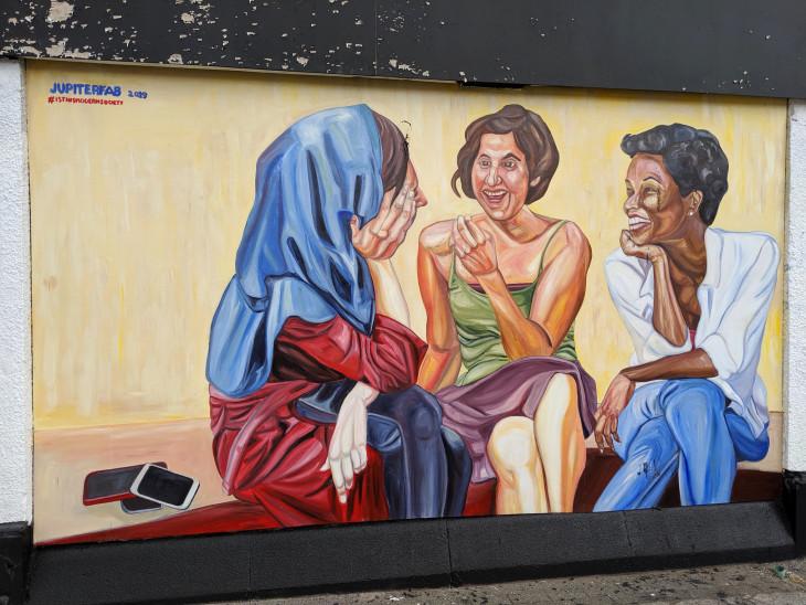 JupiterFab mural