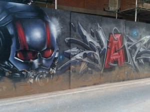 Ant-Man street art