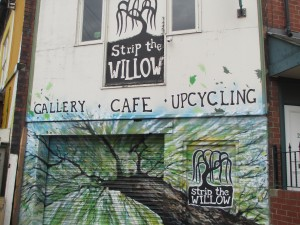 Strip the Willow shop facade