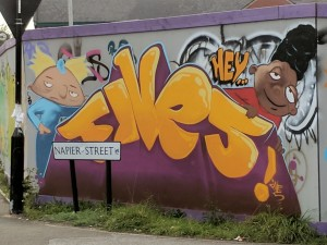 Hey Arnold! graffiti
