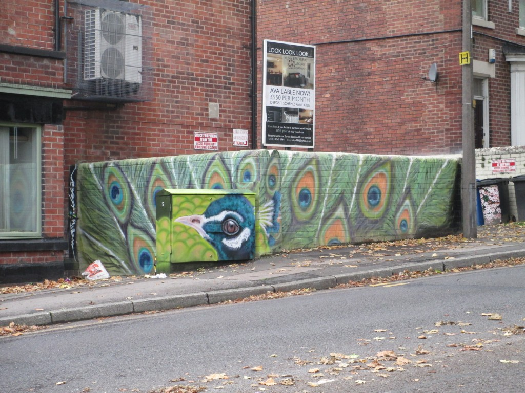 Peacock Street Art Street Art Sheffield