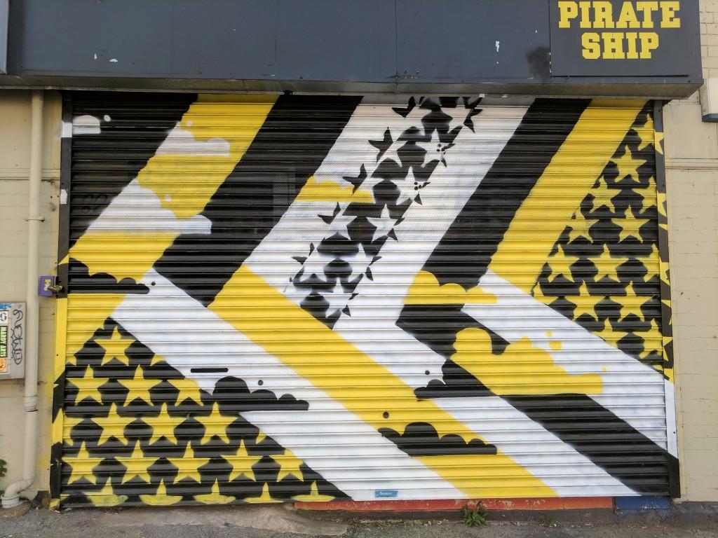 Pirate Ship | Street Art Sheffield